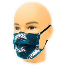 Load image into Gallery viewer, NFL Philadelphia Eagles Retro Face Mask | Locked Down Designs