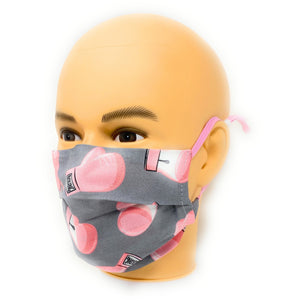 In October We Wear Pink Face Mask | Locked Down Designs