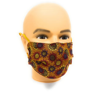 Fall Flowers Face Mask | Locked Down Designs