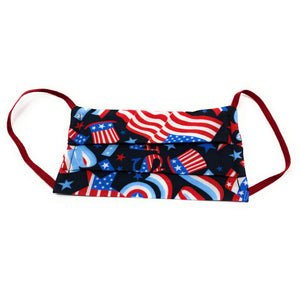 USA Patriotic Flag Face Mask | Locked Down Designs