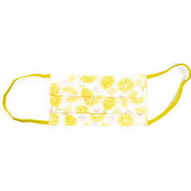 Lemon Face Mask | Locked Down Designs