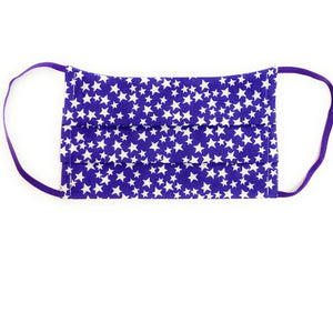 Purple Star Face Mask | Locked Down Designs