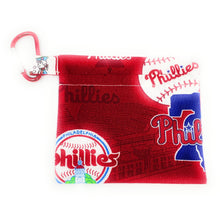 Load image into Gallery viewer, MLB Philadelphia Phillies Face Mask Holder | Locked Down Designs