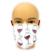 Load image into Gallery viewer, Wine Face Mask | Locked Down Designs