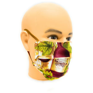 Wine Country Face Mask | Locked Down Designs