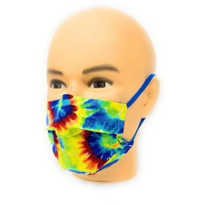 Tie Dye Hippie Swirl Face Mask | Locked Down Designs
