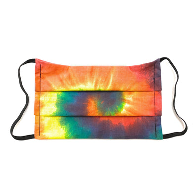 Tie Dye Bandana Face Mask | Locked Down Designs