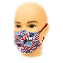 Load image into Gallery viewer, Main Street of America Route 66 Face Mask | Locked Down Designs