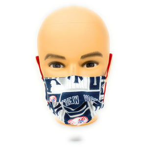 MLB NY Yankees Classic Face Mask | Locked Down Designs