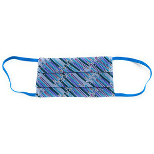 Blue Pencil Face Mask | Locked Down Designs | In-stock