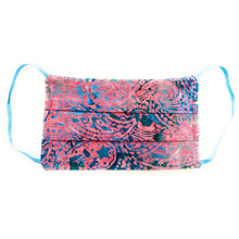 Load image into Gallery viewer, Pinky Blue Batik Face Mask | Locked Down