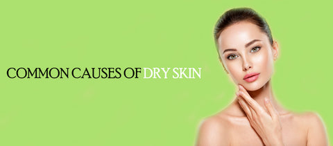 The common causes of dry skin