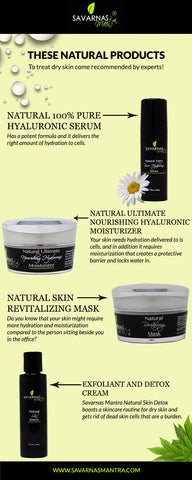 Natural products For Dry Skin