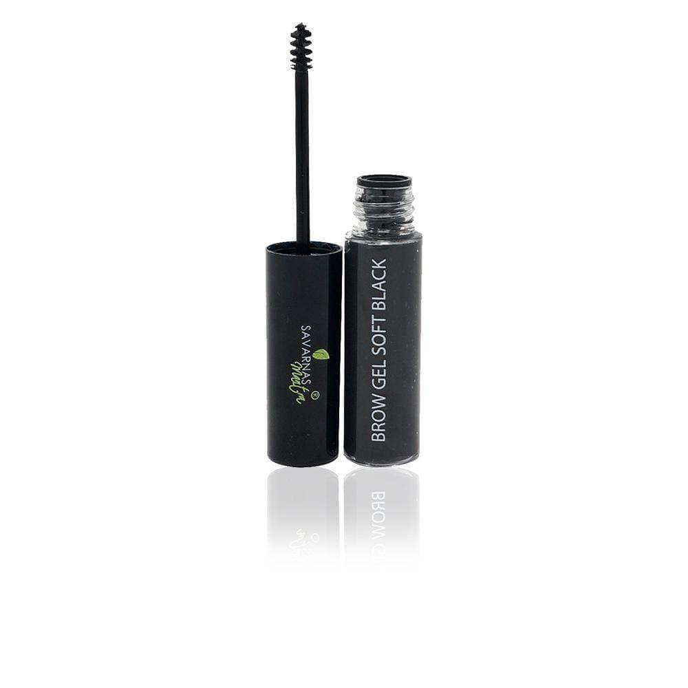 NATURAL BROW GEL SOFT BLACK