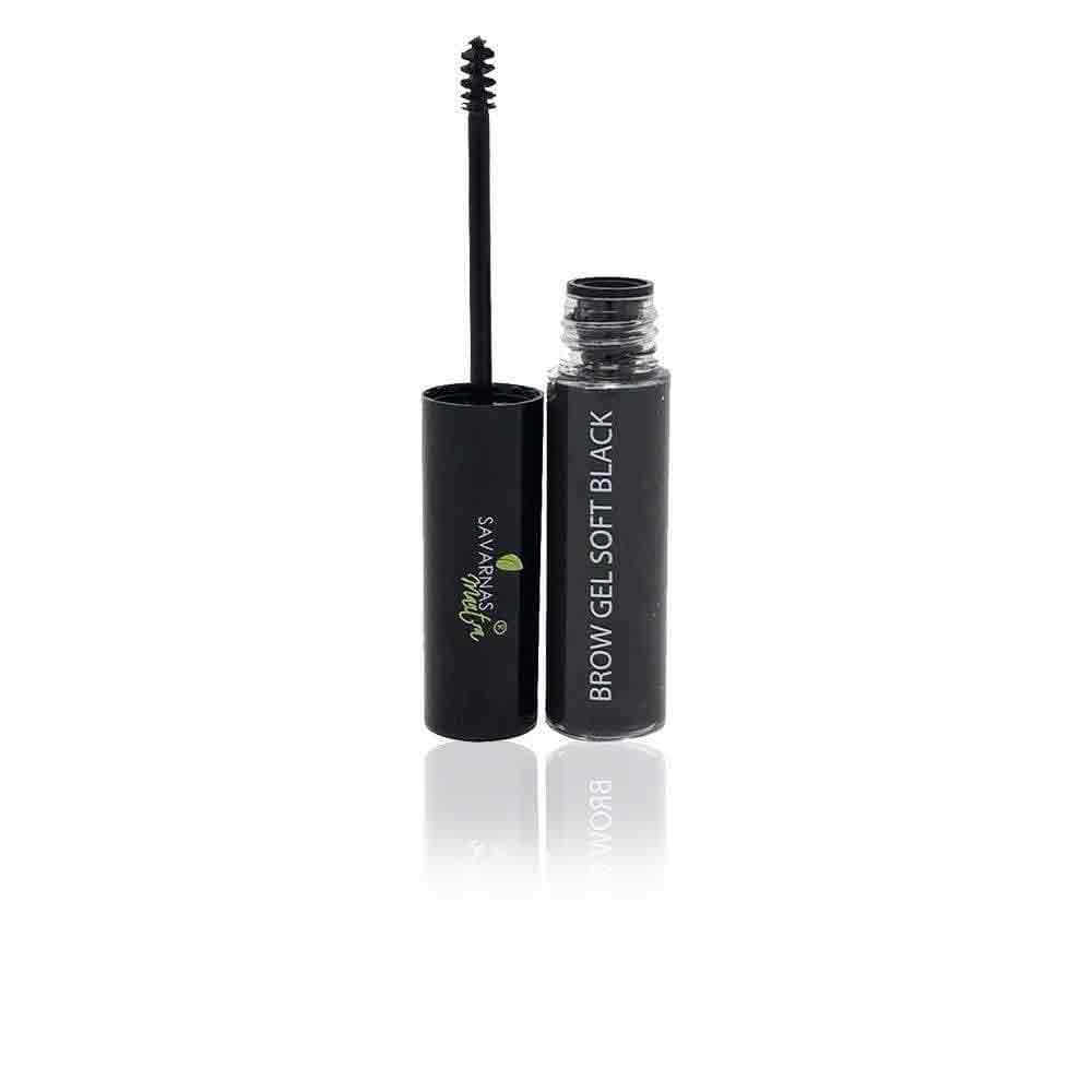 BROW GEL SOFT BLACK - SavarnasMantra