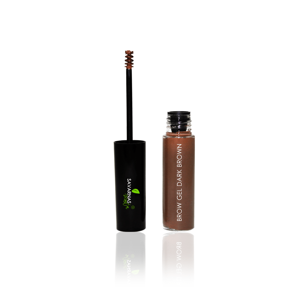 Brow Gel Dark Brown - SavarnasMantra