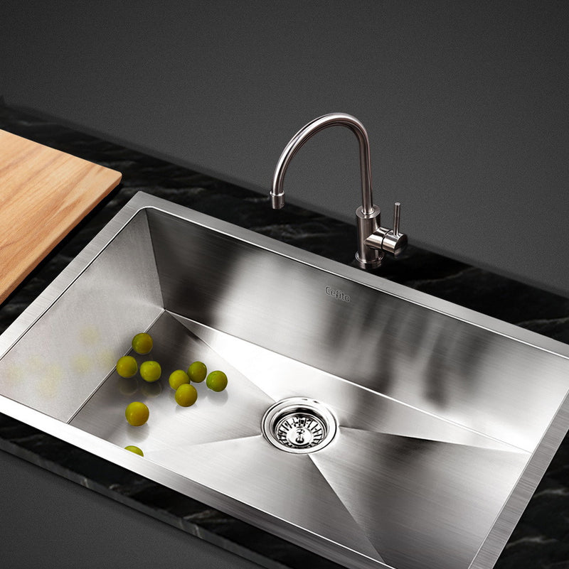 Cefito 700 x 450mm Stainless Steel Sink - Cefito