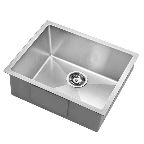 Cefito 540x440mm Stainless Steel Kitchen Laundry Sink Single Bowl Nano Silver - Cefito