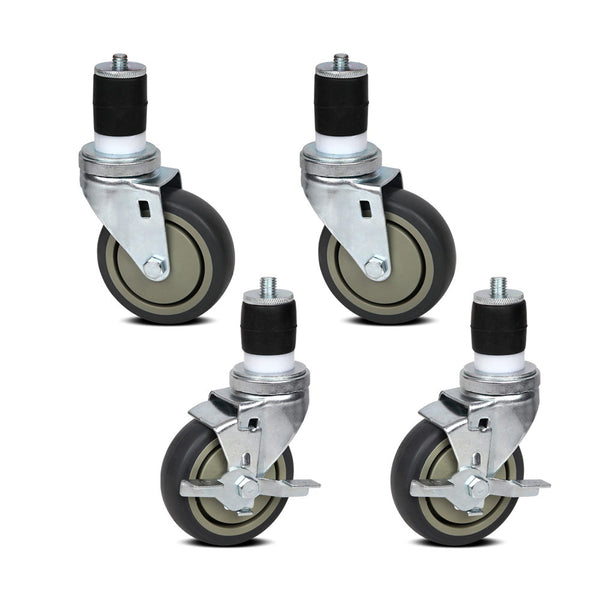 Cefito Set of 4  Swivel Castor Wheels - Cefito