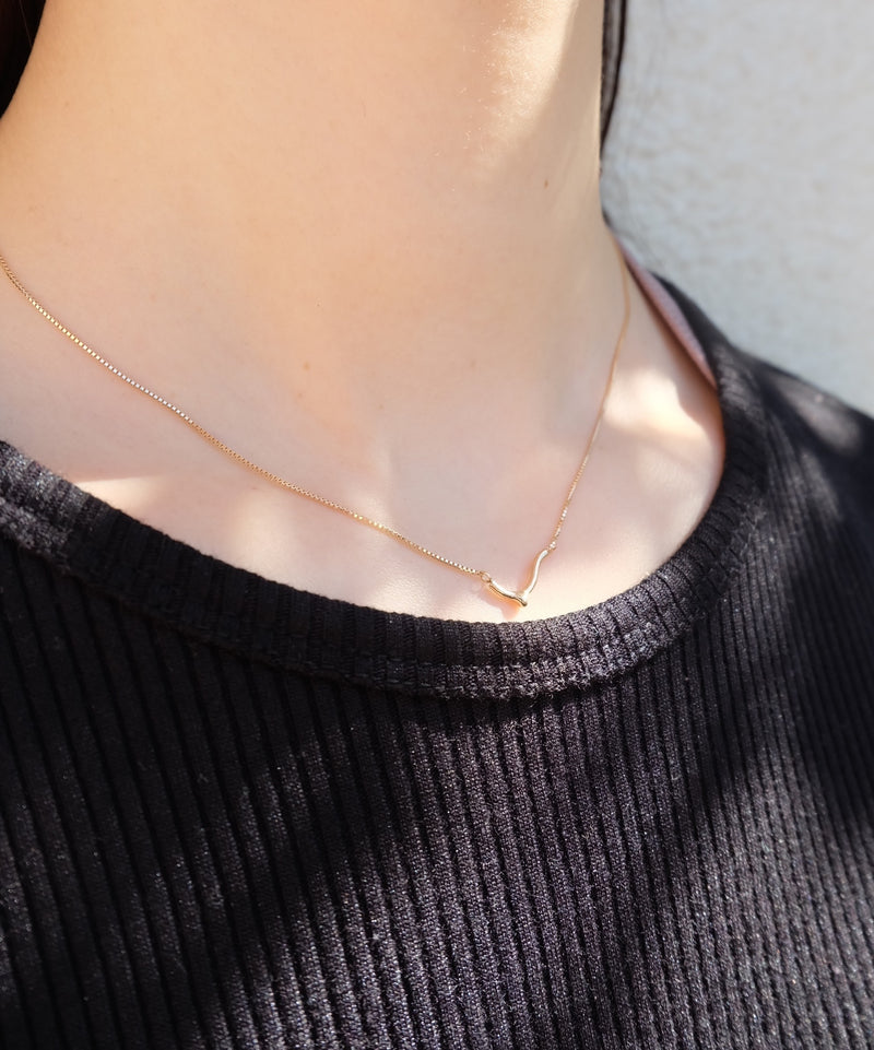 10KNudeシンボルB-Necklace