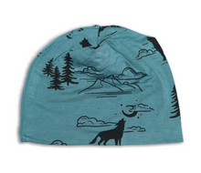 Load image into Gallery viewer, Bamboo Beanie (Call of the Wild Print)