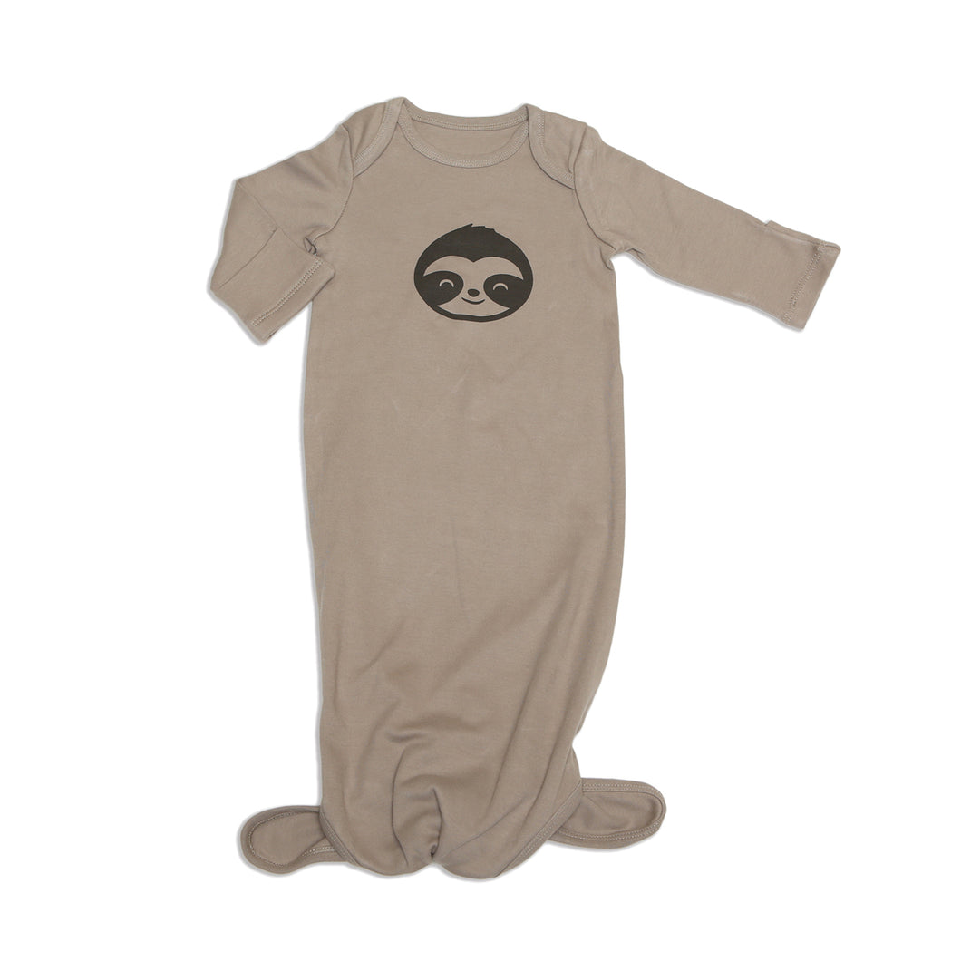 Organic Cotton Knotted Sleeper (Bear Cub)