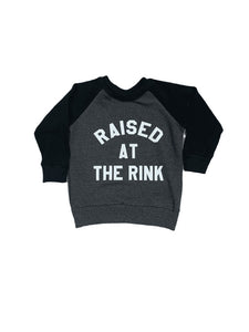 Raised at the Rink Charcoal Sweater