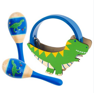 Dino Percussion Set