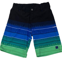 Load image into Gallery viewer, Youth Green & Black Board Shorts