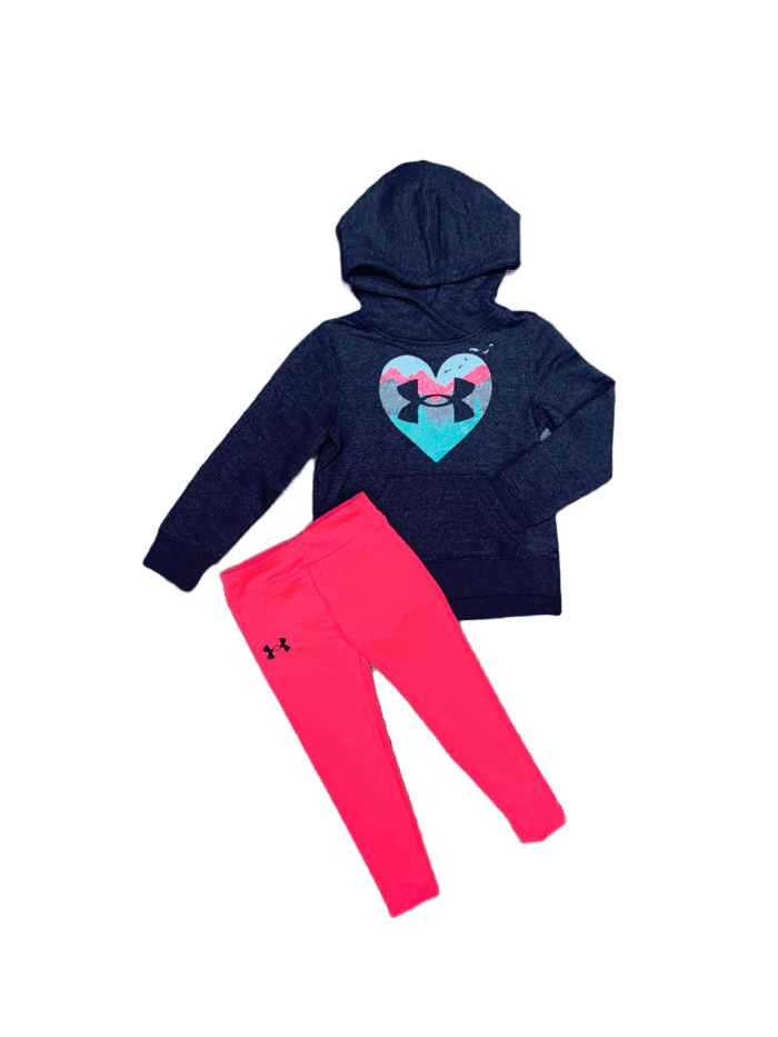 UA Mountain Heart Hoodie & Legging Set