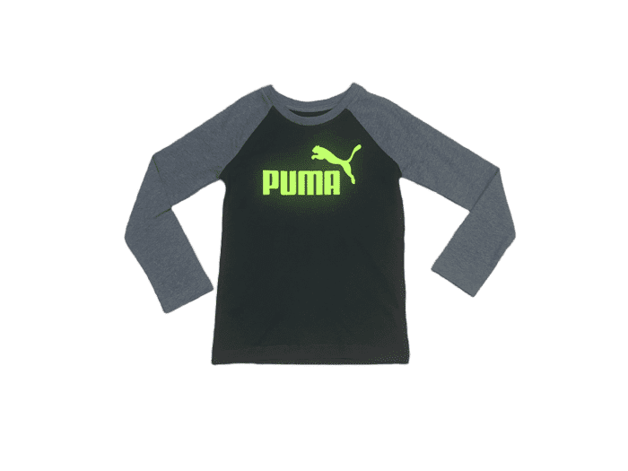 Puma Black & Grey Long Sleeve