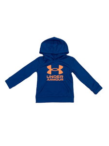 UA Fleece Blue and Orange Symbol Hoodie