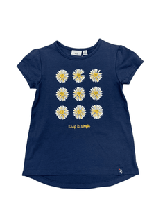 Navy Daisy T-Shirt