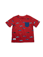 Load image into Gallery viewer, Red & Navy Cars T-Shirt
