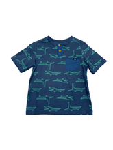 Load image into Gallery viewer, Navy Alligator T-Shirt