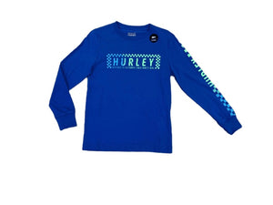 Hurley Checker Logo Long Sleeve