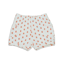 Load image into Gallery viewer, Organic Cotton Pocket Shorts (Peachy Keen Print)