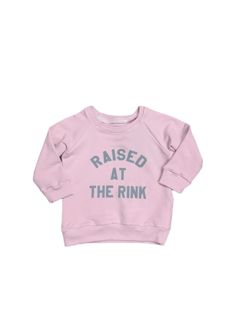 Raised at the Rink Pink Sweater