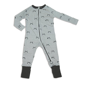 2-Way Zippy Sleeper(Peek A Boo Panda Print)