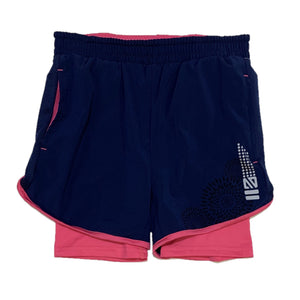 Youth Action Shorts with Pink Tights
