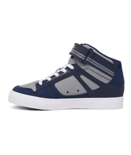 Load image into Gallery viewer, DC Pure High Top EV Black/Blue