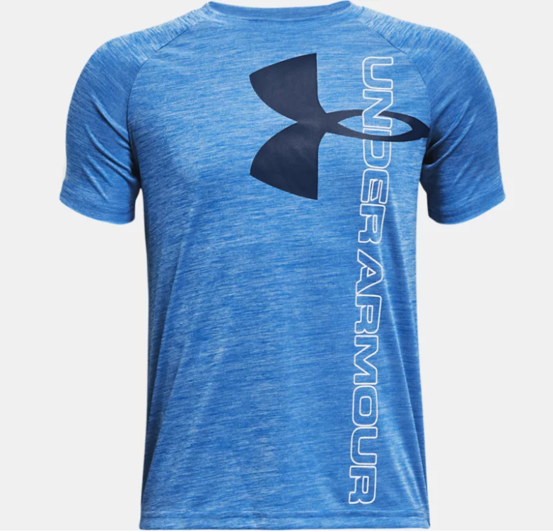UA Tech Split Logo Hybrid Short Sleve