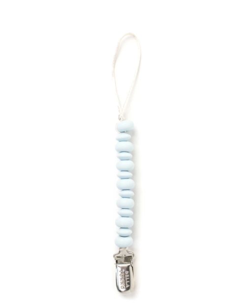 Light Blue Pacifier Clip