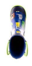 Load image into Gallery viewer, Toddler Monster Rain Boots Blue
