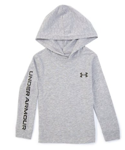 Boys Grey Long Sleeve w/ Hood