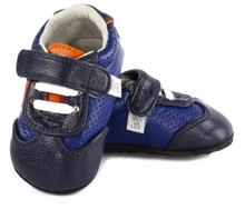 Load image into Gallery viewer, Denny Star Trainer Navy/Orange