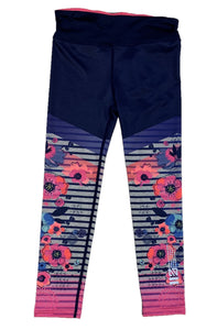 Youth Action Floral Tights