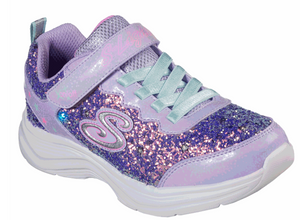 S Lights Glimmer Kicks- Glitter N' Glow