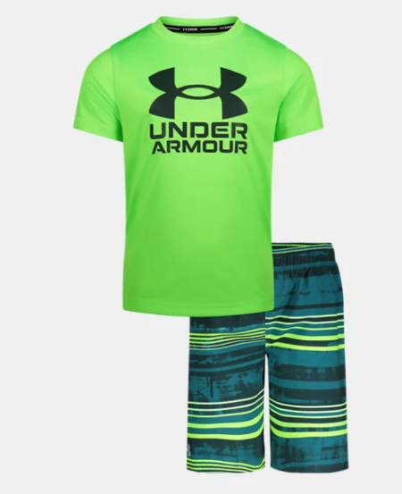 UA Gradient Stripe Set