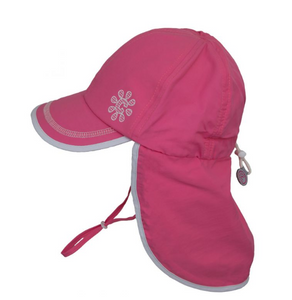 Girls UV Back Flap Quick Dry Hat